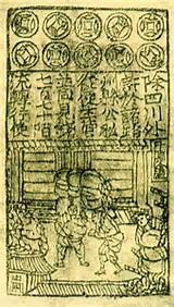 Song Dynasty Chinese Paper Money