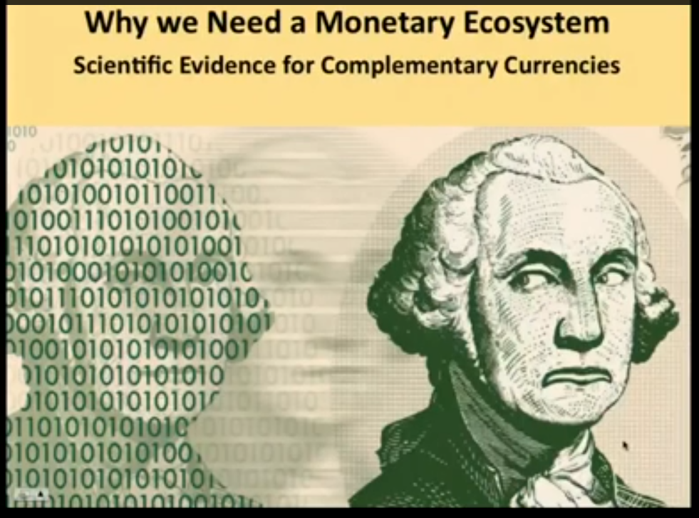Why We Need a Monetary Ecosystem